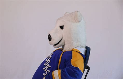 Mascot S Nook Reacts  By University Of Alaska