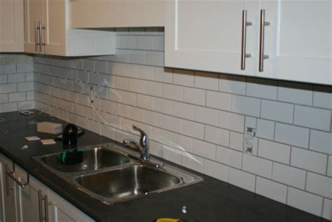 chicopee hills home diy subway tile backsplash