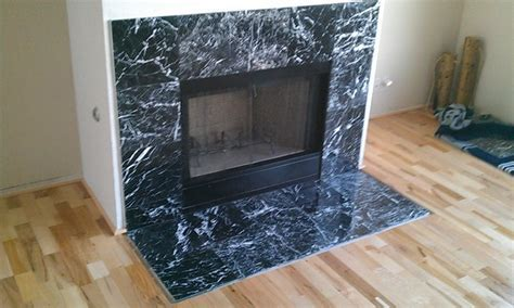Black Marble Fireplace Surround: Images and photos objects