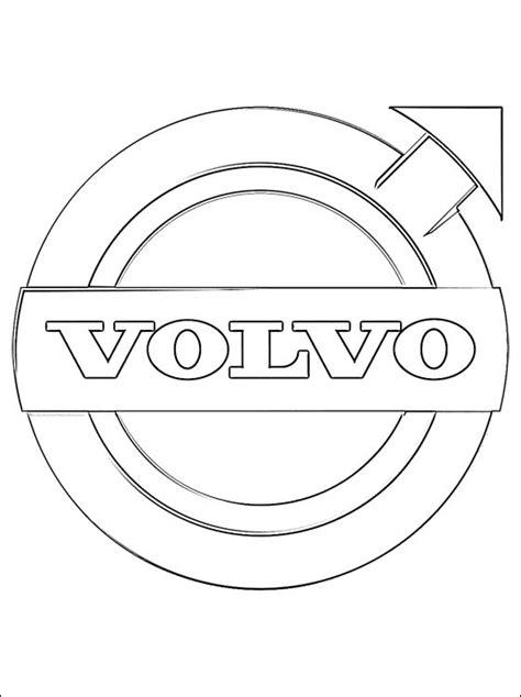 Volvo Kleurplaat by Logo Volvo Kleurplaten Gratis Kleurplaten