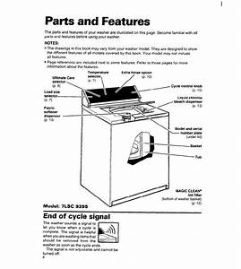 Page 4 Of Whirlpool Washer  Dryer 7lsc9355bn0 User Guide