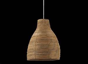 Suspension Rotin Noir : suspension rotin noir ~ Teatrodelosmanantiales.com Idées de Décoration