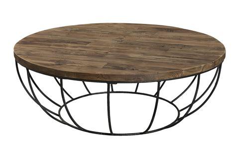 Luxus Table Basse Ronde Noire  Idées De Conception De