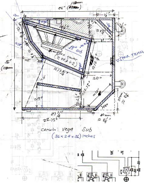 learn   detail  bass guitar cabinet plans