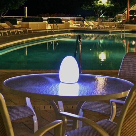 egg rechargeable outdoor light outdoor lighting