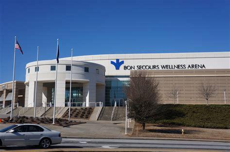 Bon Secours Wellness Arena | Greenville Daily Photo