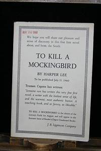 "1960 Review Edition of ""To Kill A Mockingbird"" Antiques Roadshow PBS"