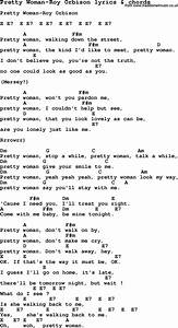 Love Song Lyrics For  Pretty Woman