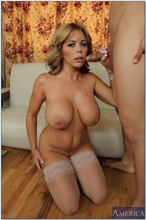 Busty Woman Amber Lynn Bach Fondled And Screwed Milf Fox