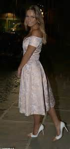 wedding dresses leeds towie 39 s sam faiers in retro style prom dress at 2014 asda