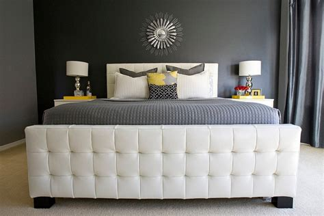Gray Yellow Bedroom by Cheerful Sophistication 25 Gray And Yellow Bedrooms