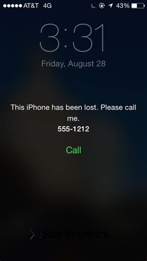 iphone lost how to track a lost iphone macworld