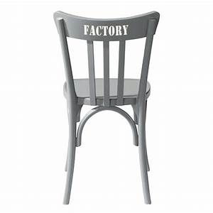 Chaise En Pin : chaise en pin massif gris campus maisons du monde ~ Teatrodelosmanantiales.com Idées de Décoration