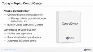 controlcenter for oracle webcenter content controlled With documents control center