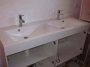 best salle de bain lavabo double ideas amazing house With salle de bain design avec pose lavabo