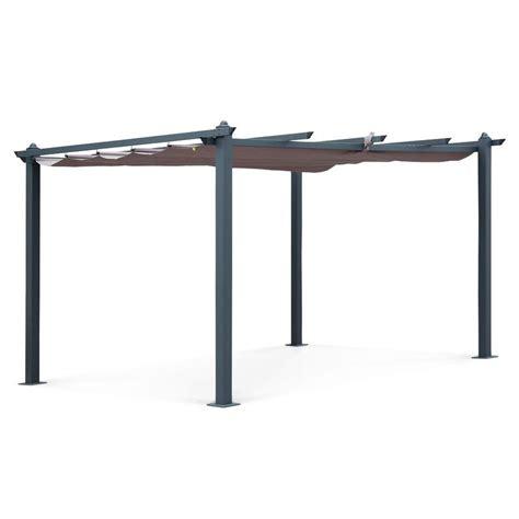 Tente De Jardin Pergola Aluminium 3x4m Condate by Pergola Comparez Les Prix Pour Professionnels Sur