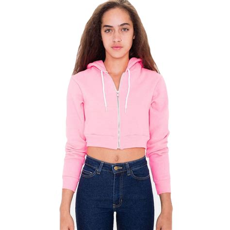 zip up cropped jacket buy wholesale cropped hoodie from china cropped