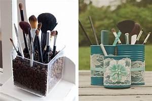 Rangement De Maquillage : 5 id es de rangement pour vos pinceaux de maquillage ~ Melissatoandfro.com Idées de Décoration