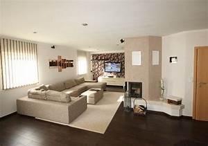 Wohnraum Farbgestaltung Ideen : reihenhaus wohnzimmer gestalten ~ Sanjose-hotels-ca.com Haus und Dekorationen