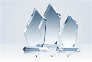 leadership excellence crystal peak award plaques crystal central