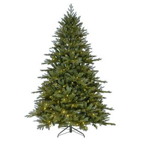 kurt s adler 7 ft pre lit led pe artificial christmas tree tr2420led the home depot