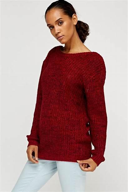 Jumper Knitted Low Fullscreen