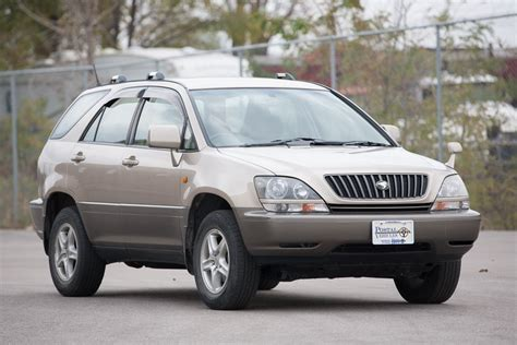 toyota harrier 1998 toyota harrier right drive