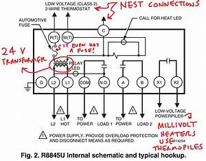 24 Volt Heat Only Thermostat Wiring Diagram