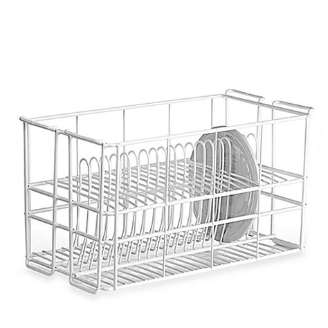 wire  dinner plate rack  ten strawberry street bed bath