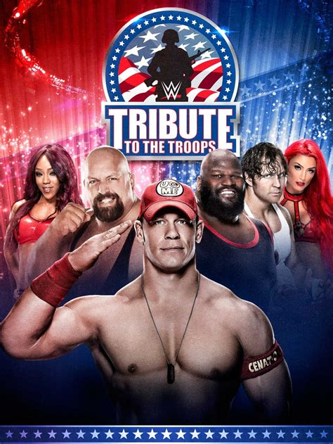 wwe tribute   troops   pictures tv guide