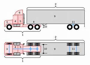 File Conventional 18-wheeler Truck Diagram Svg