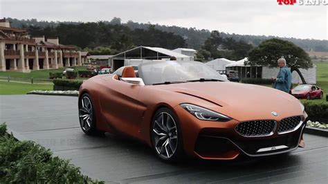 Bmw Z4 Series Concept (2017) Dynamicclose To Production
