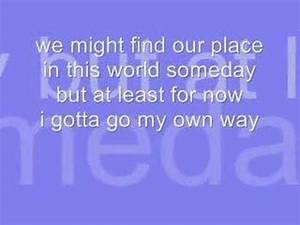 gotta go my own way - lyrics and download - YouTube