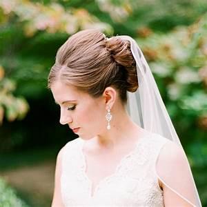9 Amazing Bridal Hairstyles With Veil Wedding Dress