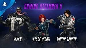 Marvel vs. Capcom: Infinite – Winter Soldier, Black Widow ...