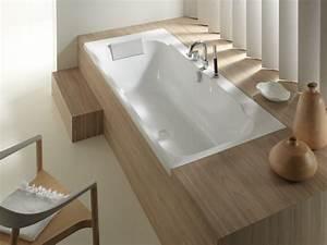 Baignoire à Poser : comment habiller une baignoire carnet d 39 l gance ~ Melissatoandfro.com Idées de Décoration