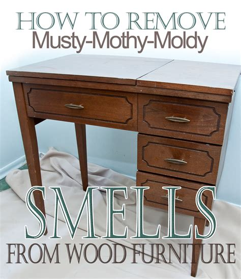 how to get rid of musty smell from wooden furniture