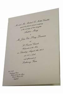 a4 a5 folder wedding invitation hayfords wedding With wedding invitation a4 size