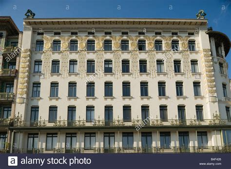 The Nouveau Of Otto Wagner Vienna Nouveau Tenement House Wienzeile 38 By Otto
