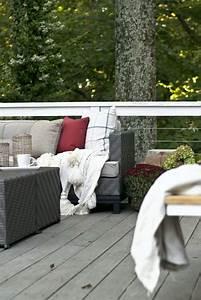 Amnagement Terrasse Extrieur Pour L39hiver En 45 Ides