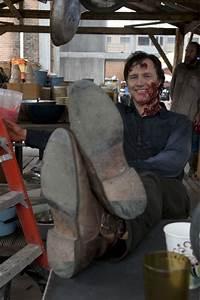 'Walking Dead' midseason 4 finale - cast behind the scenes ...