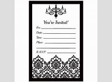 Black White White And Templates Invitations Mick And Black Mouse 1