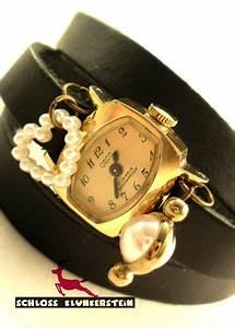 Vintage Uhren Damen : very vintage goldene echt vintage wickeluhr damen von schloss klunkerstein uhren von hand ~ Watch28wear.com Haus und Dekorationen
