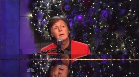 Paul McCartney on Saturday Night Live - Nirvana Gents, Joe ...