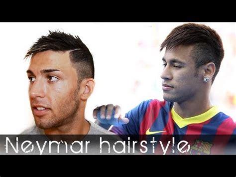 neymar football player hairstyle mens short hair