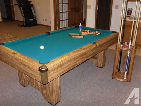 how big is a pool table brunswick pool table 7ft slate moving for in east 8426