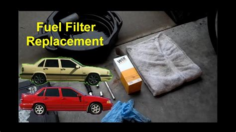 Volvo 850 Fuel Filter by How To Replace The Fuel Filter Volvo 850 S70 V70 Auto