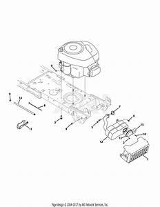 Troy Bilt 13wn77ks011 Pony  2010  Parts Diagram For Engine