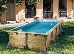 Deco Piscine Hors Sol : piscine bois hors sol rectangulaire la redoute ~ Melissatoandfro.com Idées de Décoration