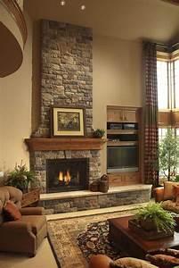 50, Sensational, Stone, Fireplaces, To, Warm, Your, Senses